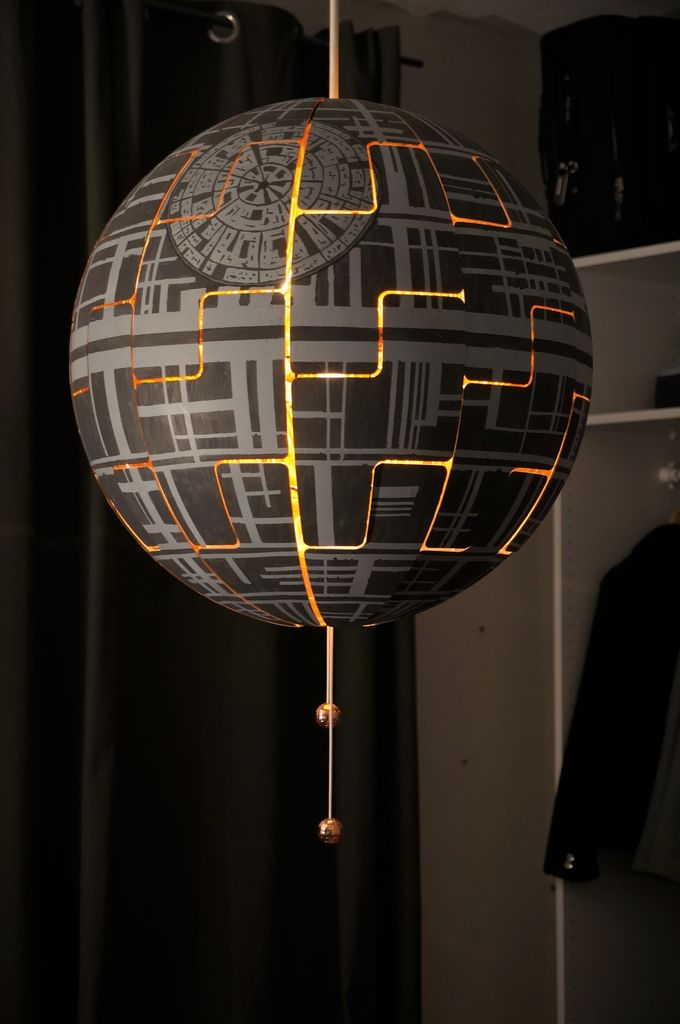 IKEA DeathStarLamp 01