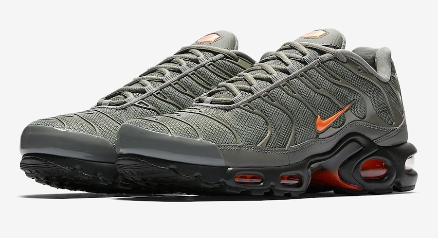 Nike Air Max Plusグレー/オレンジ、2/8に発売