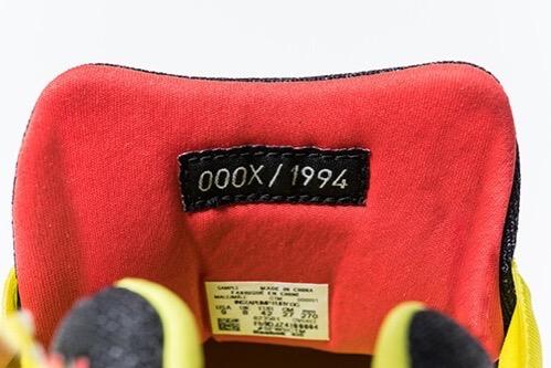 INSTA PUMP FURY幻のプロトタイプが1994足限定で復刻