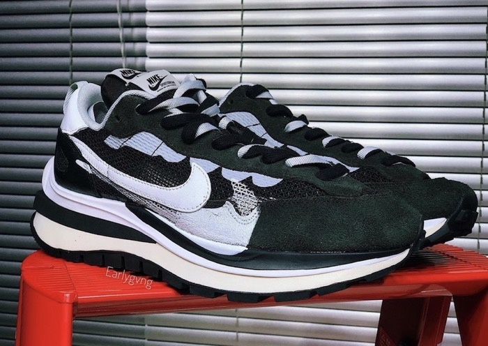 sacai x Nikeの最新コラボスニーカーVaporWaffleの写真が公開
