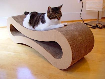 爪研ぎもできる猫用の家具 - POPCLIP