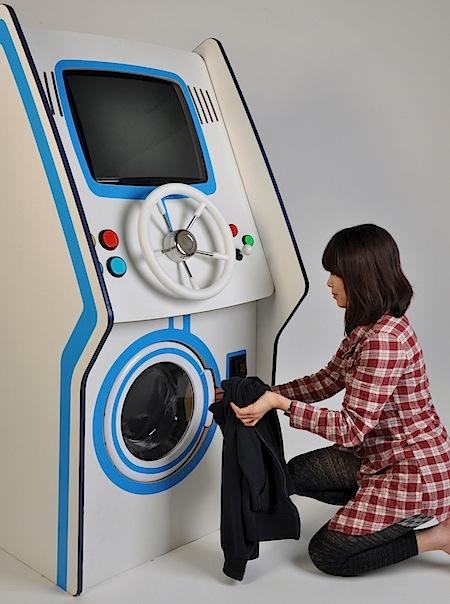 Popclip - Machine a laver du futur ...