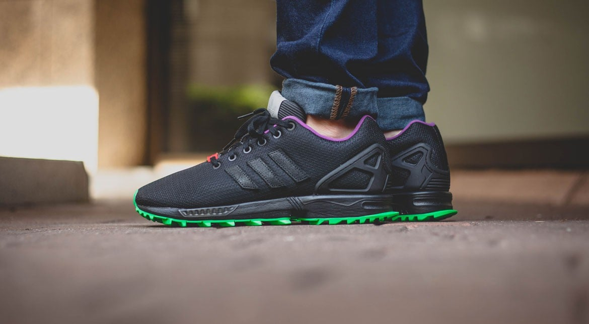 Adidas ZX FLUX RS FLASHLIME 06