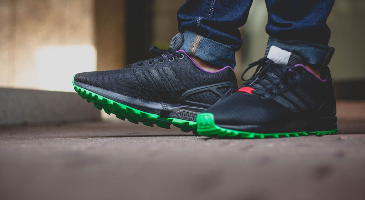 Adidas ZX FLUX RS FLASHLIME 07