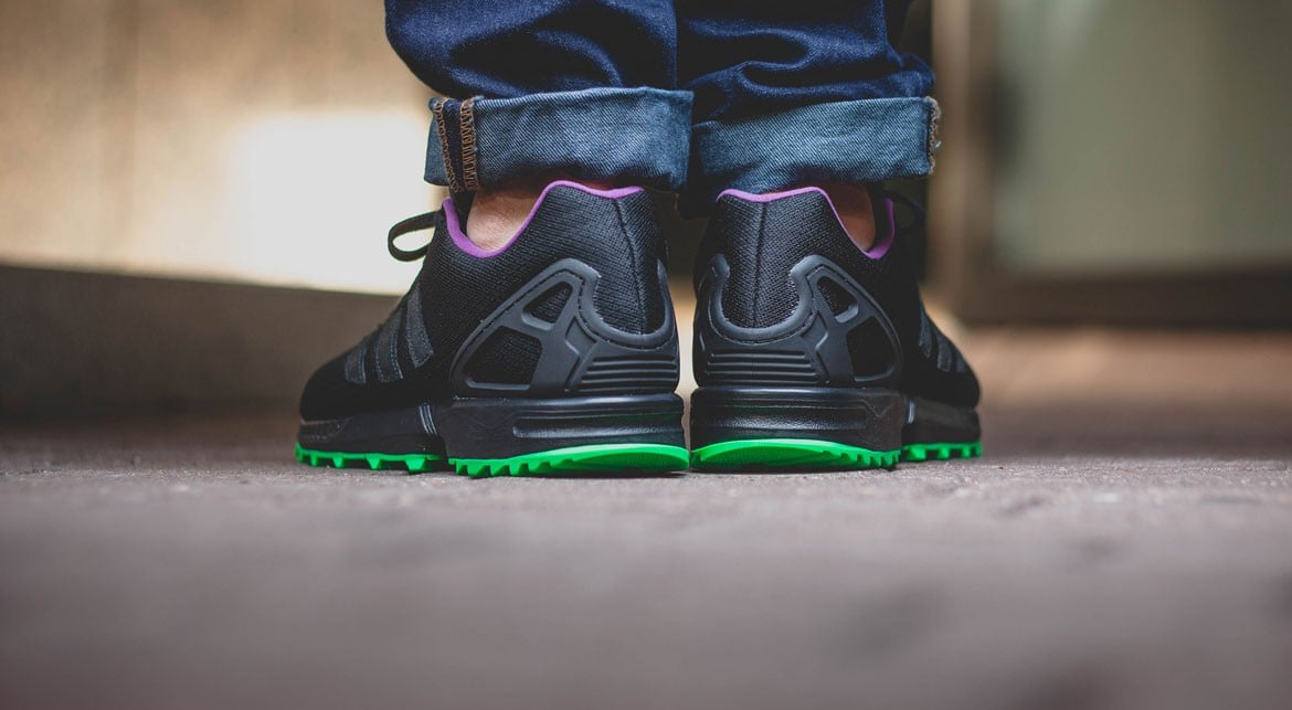 Adidas ZX FLUX RS FLASHLIME 08