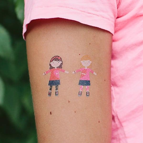 TATTLY tattoo sticker 03